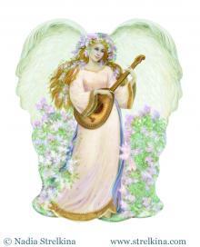 Ангел с мандалиной