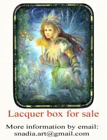 """Lacquer box """" Fairy"""" for sale!"""